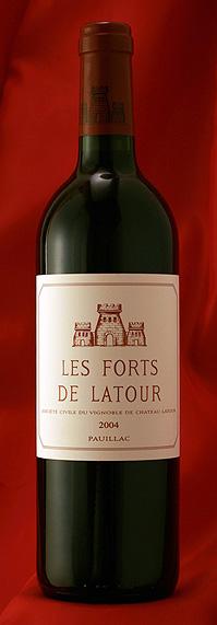 レ・フォール・ド・ラトゥール [2004] 750mlLes Forts de Latourフランス ボルドー ワイン 赤