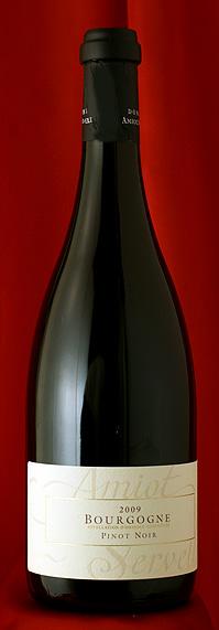 12本セット!ブルゴーニュ・ピノ・ノワール[2009]Bourgogne Pinot Noir 750mlアミオ・セルヴェル Amiot Servelle