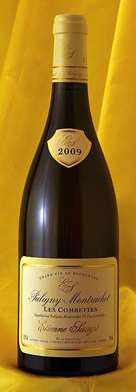 ピュリニー・モンラッシェ・コンボット[2009]Puligny Montrachet Les Combottes 750mlエチエンヌ・ソゼ Etienne Sauzetフランス ブルゴーニュ ワイン 白