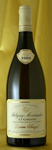 ピュリニー・モンラッシェ・ラ・ガレンヌ[2011]Puligny Montrachet La Garenne 750mlエチエンヌ・ソゼ Etienne Sauzet