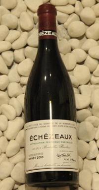 エシェゾー Echezeaux [2003] 750ml DRCDRC (Domaine de la Romanee Conti)