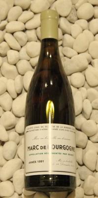 マールドゥブルゴーニュ Marc de Bourgogne[1991] 750ml DRCDRC (Domaine de la Romanee Conti)
