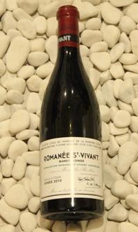 ロマネ・サンヴィヴァン Romanee saint Vivant [2010] 750ml DRCDRC (Domaine de la Romanee Conti)