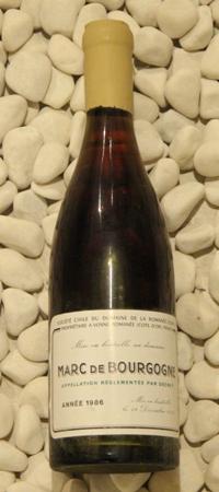 マールドゥブルゴーニュ Marc de Bourgogne[1986] 750ml DRCDRC (Domaine de la Romanee Conti)