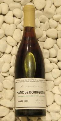 マールドゥブルゴーニュ Marc de Bourgogne[1987] 750ml DRCDRC (Domaine de la Romanee Conti)