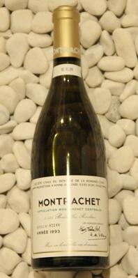モンラッシェ Montrachet [1993] 750ml DRCDRC (Domaine de la Romanee Conti)