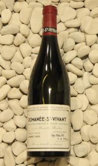 ロマネ・サンヴィヴァン Romanee saint Vivant [1992] 750ml DRCDRC (Domaine de la Romanee Conti)