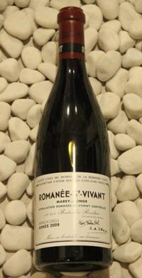 ロマネ・サンヴィヴァン Romanee saint Vivant [2009] 750ml DRCDRC (Domaine de la Romanee Conti)