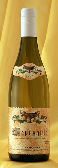 ムルソー [2007] Meursault 750mlドメーヌ J・F コシュ・デュリ Domaine JF.Coche-Duryワイン フランス ブルゴーニュ 白