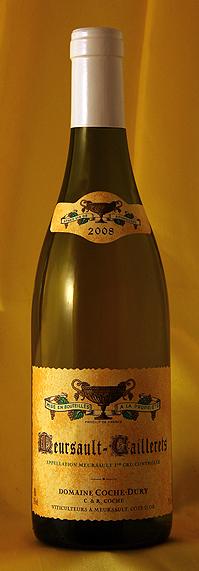 ムルソー カイユレ [2008] Meursault Caillerets 750mlドメーヌ J・F コシュ・デュリ Domaine JF.Coche-Dury