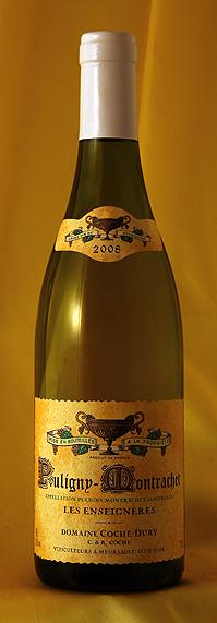ピュリニー・モンラッシェ レ・ザンセニエール [2008] Puligny Montrachet Les Enseigneres 750mlドメーヌ J・F コシュ・デュリ Domaine JF.Coche-Duryフランス ブルゴーニュ ワイン 白
