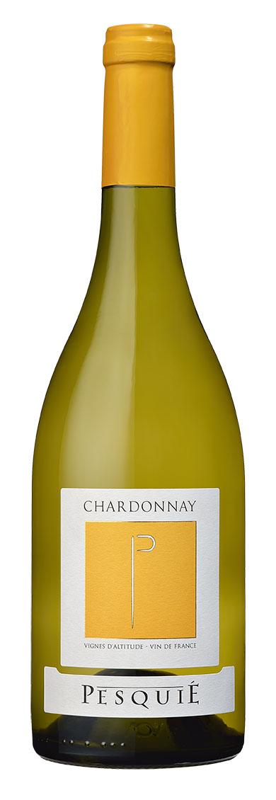 12本セットで約10%OFF! 蔵出し シャルドネ ペスキエ[2017] Chardonnay Pesquie  750mlフランス コート・デュ・ローヌ ワイン 白