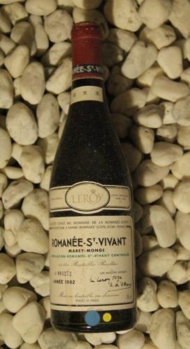 ロマネ・サンヴィヴァン Romanee saint Vivant [1982] 750ml DRCDRC (Domaine de la Romanee Conti)
