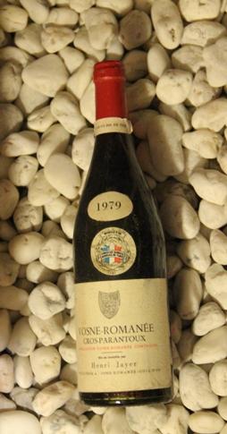 Vosne Romanee 1er Cros-Parantoux ヴォーヌ・ロマネ 1er クロ・パラントゥ[1979]750mlアンリ・ジャイエ Henri Jayer
