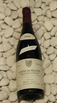 Vosne Romanee 1er Cros-Parantoux ヴォーヌ・ロマネ 1er クロ・パラントゥ[1998]750mlアンリ・ジャイエ Henri Jayer