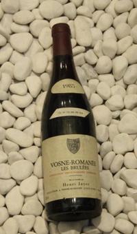 Vosne Romanee les Brulees 1er ヴォーヌ・ロマネ レ・ブリュレ 1er [1985]750mlアンリ・ジャイエ Henri Jayer