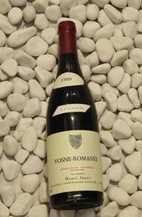 Vosne Romanee ヴォーヌ・ロマネ [1989]750mlアンリ・ジャイエ Henri Jayer