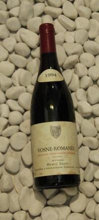 Vosne Romanee ヴォーヌ・ロマネ [1994]750mlアンリ・ジャイエ Henri Jayer