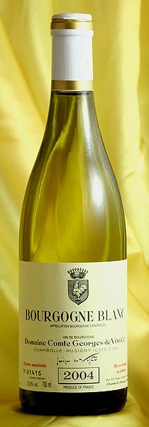 ブルゴーニュ・ブラン Bourgogne Blanc[2004] 750mlコント ジョルジュ ド ヴォギュエ Comtes Georges de Vogue