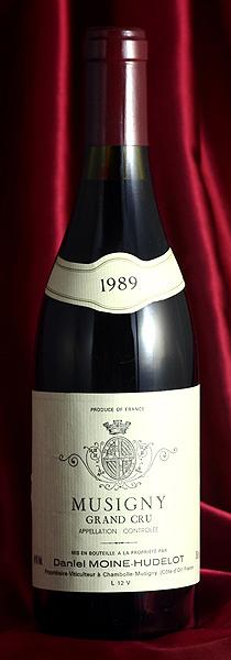 Moine HudelotMusigny[1989]750mlミュジニー[1989]750mlモワンヌ・ユドロ Moine Hudelot