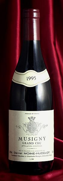 Moine HudelotMusigny[1995]750mlミュジニー[1995]750mlモワンヌ・ユドロ Moine Hudelot