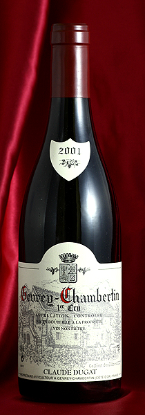 ジュヴレイ・シャンベルタン・プルミエ・クリュ[2001]Gevrey Chambertin Premier Cru 750mlクロード・デュガ Claude Dugatフランス ブルゴーニュ ワイン 赤