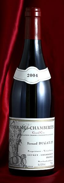 Dugat-PyCharmes Chambertin 2004 750mlシャルム シャンベルタン 750mlデュガ 今だけ限定15%OFFクーポン発行中 ワイン Dugat-Pyフランス ピィ ブルゴーニュ 売り込み 赤