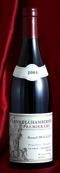 ジュヴレイ・シャンベルタン プルミエ・クリュ[2004] Gevrey Chambertin Premier Cru 750mlデュガ・ピィ Dugat-Pyフランス ブルゴーニュ ワイン 赤