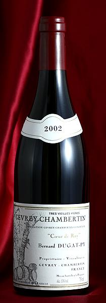 ジュヴレイ・シャンベルタン クール・ド・ロワ[2007] Gevrey Chambertin Coeur de Roy 750mlデュガ・ピィ Dugat-Py