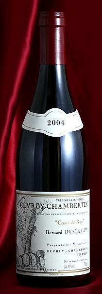 ジュヴレイ・シャンベルタン クール・ド・ロワ[2004] Gevrey Chambertin Coeur de Roy 750mlデュガ・ピィ Dugat-Pyフランス ブルゴーニュ ワイン 赤