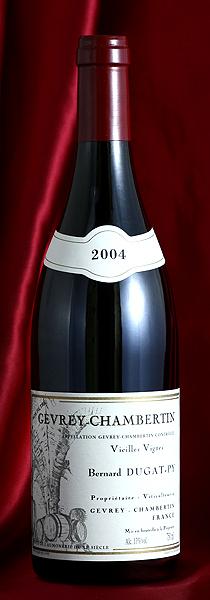 ジュヴレイ・シャンベルタン ヴィエイユ・ヴィーニュ[2004] Gevrey Chambertin Vieilles Vignes 750mlデュガ・ピィ Dugat-Pyフランス ブルゴーニュ ワイン 赤