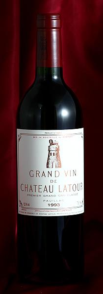 シャトー・ラトゥール [1993] 750mlCh.Latour