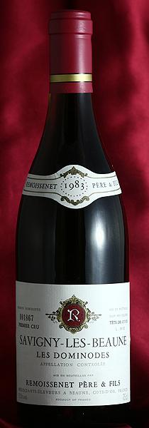 Remoissenetサヴィニー・レ・ボーヌ・レ・ドミノード[1983]Savigny les Beaune Les Dominodes 750mlルモワスネ Remoissenetフランス ブルゴーニュ ワイン 赤
