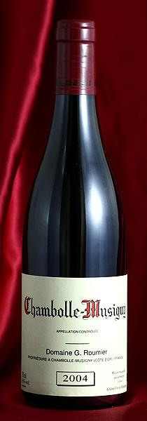 シャンボール・ミュジニーChambolle Musigny [2004] 750mlジョルジュ・ルーミエ Georges Roumier