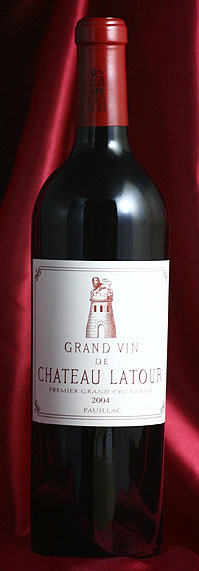 シャトー・ラトゥール [2004] 750mlCh.Latourフランス ボルドー ワイン 赤