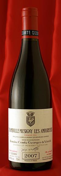 シャンボール・ミュジニー・レザムルーズ[2007]Chambolle Musigny Les Amoureuses  750mlComtes Georges de Vogueフランス ブルゴーニュ ワイン 赤