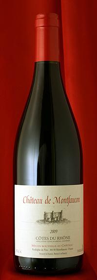 6本セット!蔵出し コート・デュ・ローヌ ルージュCotes du Rhone Rouge [2009] 750mlシャトー・モンファコン Chateau Montfaucon
