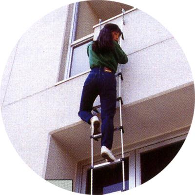 蛍光避難はしご2階用BP-6【後払い不可】