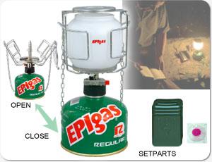 EPIgas MBランタンオート L-2010(防災グッズ/ランプ/明かり/燃料/家族/女性/子供/災害/帰宅困難/アウトドア/非常時/EPIgas MBランタンオート L-2010)
