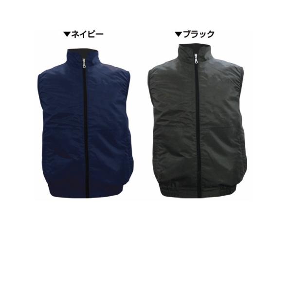 最安値 高密度空調ベスト 服のみ フルハーネスの上から着用可能 br-578-1 ブレ