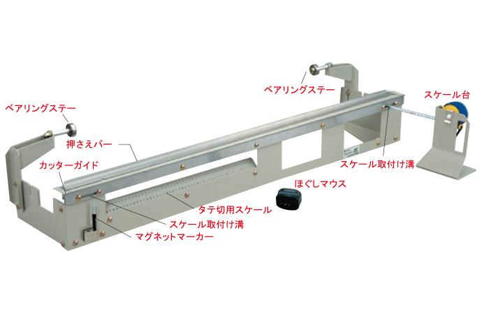 カットクン 匠 FRP ガラスマット 裁断・ほぐしなどの加工に省スペースで効率的にカット可能 / アイユ
