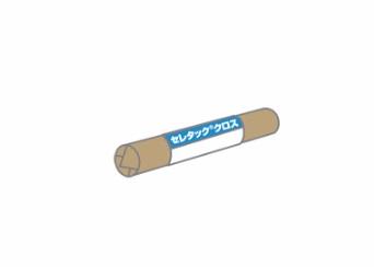 セレタッククロス 100m/巻 補強材ポリプロピレン不織布 昭和電工建材