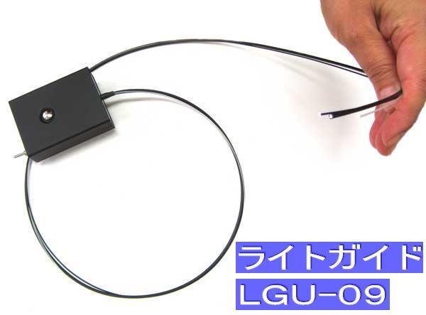 ファイバースコープ カメラ ファイバースコープ用ライトガイド 内視鏡 先端0.9mm LGU-09 狭所 暗部 深所 暗所 検査 作業 工具
