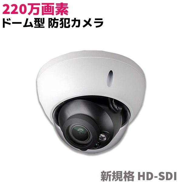 防犯カメラ 220万画素 ドーム型 防犯 カメラ 電動ズーム 赤外線 HD-CVI 監視 セキュリティ IP66 防水 D2220RNZ