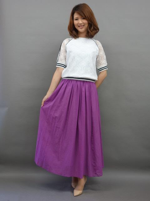 【2018年春夏新作30%OFF!!】PASSIONERobe(ローブ)スカート