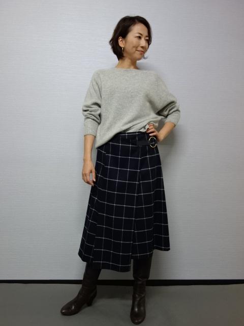【秋冬40%OFF!!】Apaiser lame(アぺゼラム)DAIMATSUスカート