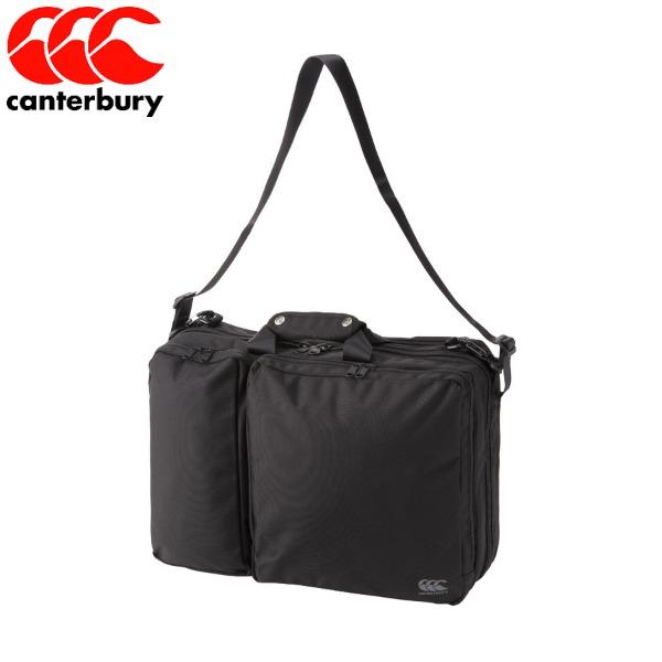 【送料無料】 canterbury/カンタベリー AB08230 19 ブラック3WAY BAG バッグ ラグビービジネスバッグ コーチバッグ【ラッキーシール対応】