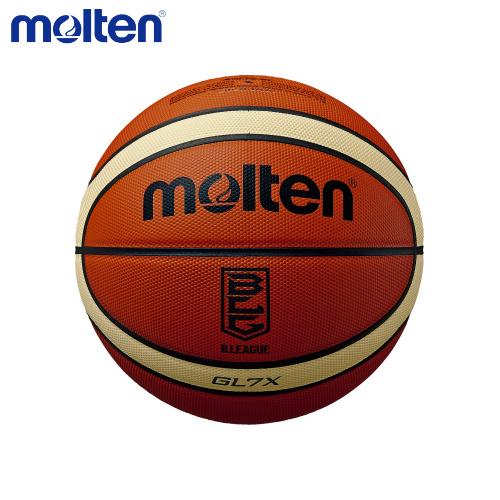 【送料無料】 molten/モルテン BGL7X-BL バスケットボール ボール GL7X Bリーグ公式試合球 オレンジ×アイボリー BGL7X-BL【ラッキーシール対応】
