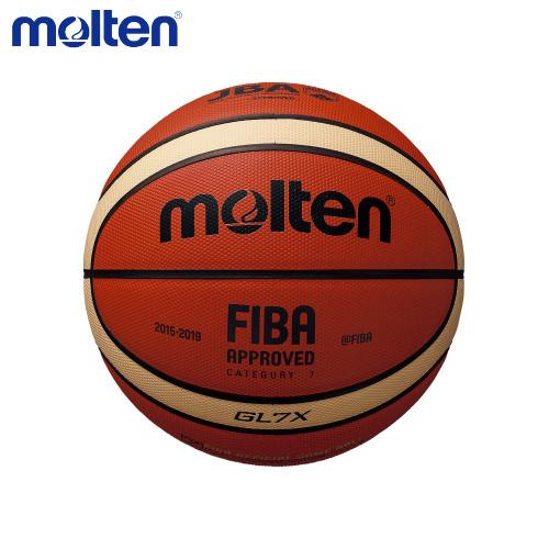 【ラッキーシール対応】【送料無料】 molten モルテン GL7X BGL7Xバスケットボール、7号球 <一般・大学・高校・中学校 男子用>