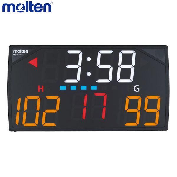 【ラッキーシール付き】【送料無料】【molten / モルテン】 デジタイマ110X UX0110電光表示器(カウンター)、